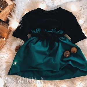 świąteczna sukienka dla dziewczynki slow village