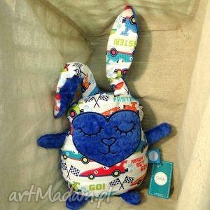hand-made maskotki zając królik przytulanka
