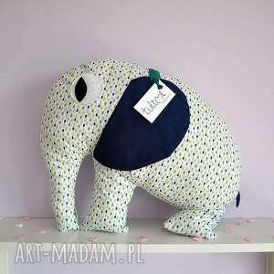 Duża poduszka przytulanka słonik od Tulimi, poduszka, przytulanka, słonik, chrzest