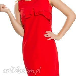 agata re sukienka wizytowa w kolorze czerwieni rozmiar 46, elegancka