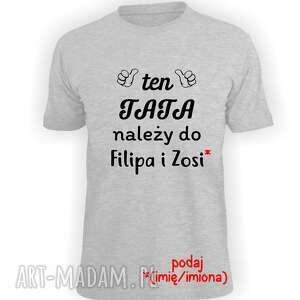 koszulka z nadrukiem dla taty, prezent dzień ojca, od dzieci, syna, córki
