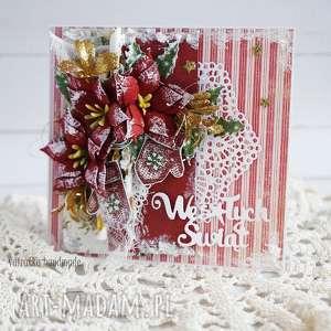 upominek Kartka świąteczna (z pudełkiem), kartka-świąteczna, boże-narodzenie