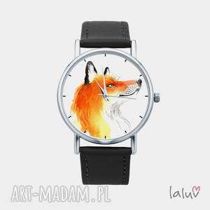 Prezent Zegarek z grafiką LIS, prezent, lisek, rudy, cwaniak, las, spryciarz