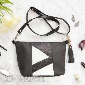 Black Pearl Cat Patty Mini Bag black&silver