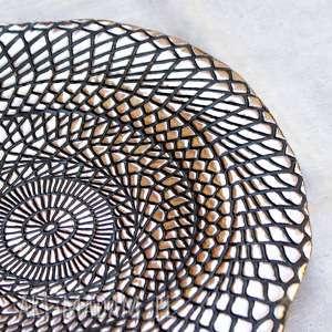 hand-made ceramika patera ceramiczna