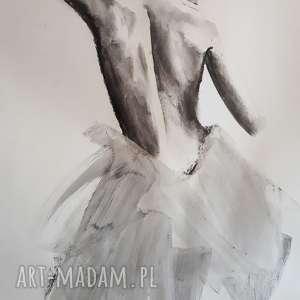 kobieta 100x70, duża-grafika, kobieta-obraz, duże-obrazy, akt-kobiecy, czarno-białe