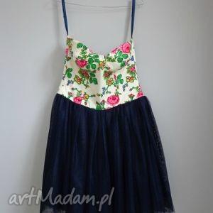 hand-made sukienki sukienka folk design aneta larysa knap