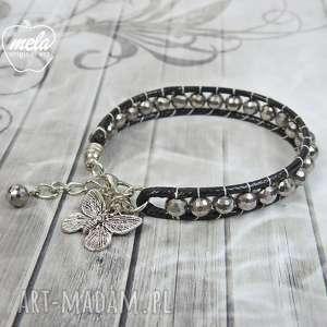 0702/mela bransoletka wrap bracelet pojedyncza, bransoletka