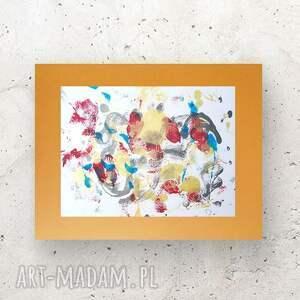 nowoczesna dekoracja na ścianę, abstrakcyjny obrazek do pokoju, minimalistyczny