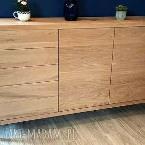 komoda dębowa, kolekcja minimalizm, komoda, dąb, meble drewniane