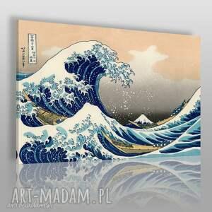 obraz na płótnie - fala morze 120x80 cm 75301, fala, morze, woda, dekoracja