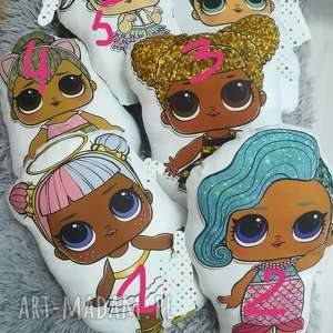 zestaw poduszek laleczek lol, lalka, poducha lalki, pod choinkę prezenty