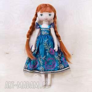 księżniczka ania - laleczka bawełniana, lalka, laleczka, księżniczka, anna
