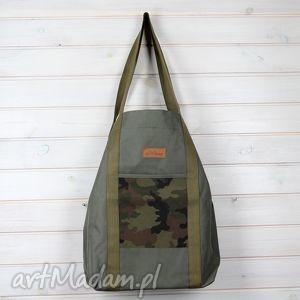 na ramię wodoodporna torba oliwkowa moro, oliwkowa, wojskowa, militarna