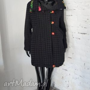 FOLK DESIGN- płaszcz unikat , płaszcz, folk, design,