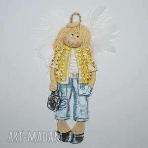 pokoik dziecka plecaki są modne anioł, masa solna, prezent, dekoracja