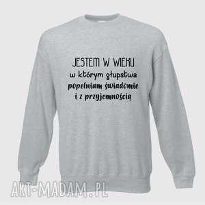bluzy bluza z nadrukiem dla dziewczyny, kobiety, żony, siostry, prezent