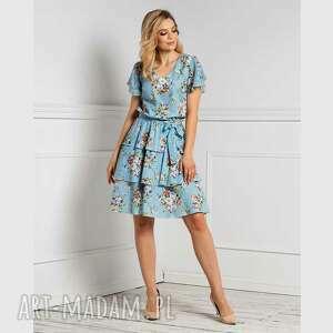 livia clue sukienka polina mini allegria, mini, falbany