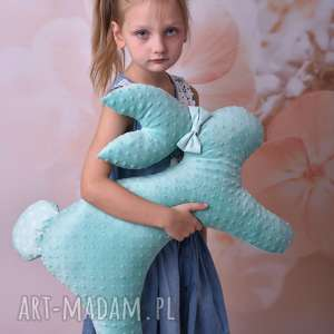 ateliermalegodesignu poduszka dziecięca królik, królik na prezent