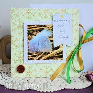 kartki kartka - kolekcjonuj chwile nie rzeczy, kartka, fotografia, motto