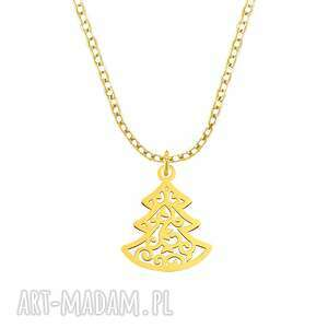 celebrate - christmas tree - necklace g - ,choinka,święta,celebrytka,