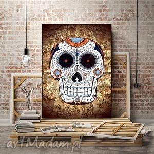 czacha 50x70cm - czacha, skull, plakat