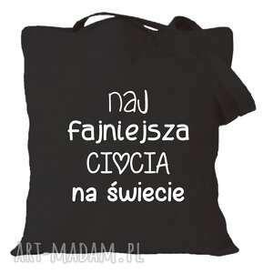 manufaktura koszulek torba z nadrukiem dla przedszkolanki, prezent, zakończenie