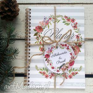 planer dla panny mlodej, notatnik - na prezent z personalizacją, planer, ślub
