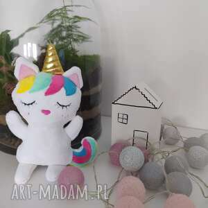 Unicorn, jednorożec z imieniem dziecka lalki karolina titi