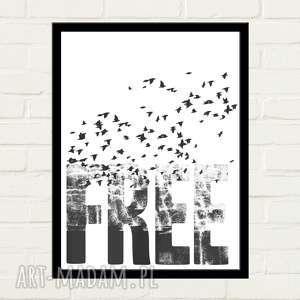 FREE Plakat 30x40, minimalizm