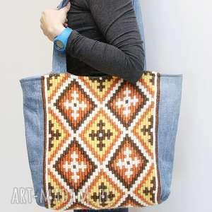 hand-made torebki w stylu boho
