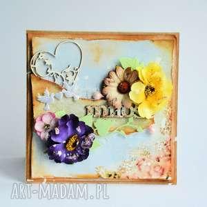 Kartka - Miłość, kartka, miłość, ślub, eko, rocznica, przyjaźń