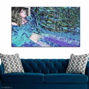 obraz na płótnie do sypialni, salonu, 100 x 60, surrealizm, nowoczesny