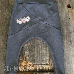 Portaski dla chłopca, spodnie, wygodne, luzne, miękkie, ciepłe, efektowne