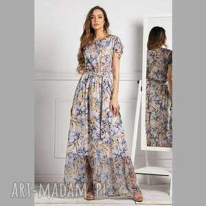 sukienka mia maxi emanuella, maxi, wiosenna sukienka, długa
