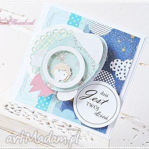 makama2 kartka dla dziecka - chłopiec w rakiecie, kartka, dziecko, urodziny, rakieta