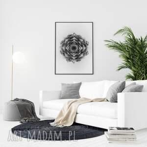 malgorzata domanska mandala a1, mandala, kwiaty, plakat, obraz, ilustracje