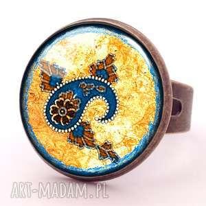 handmade pierścionki smak orientu - pierścionek regulowany