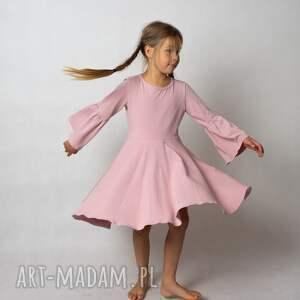 ketu style sukienka gracja różowa, dla dziewczynki, na wesele