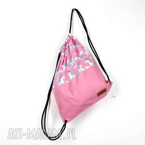 Worek plecak flamingi jednorożce godeco worek, plecak