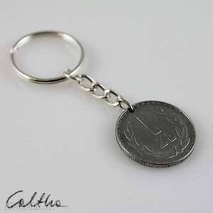 breloki złotówka - breloczek do kluczy, brelok, breloczek, recykling, złotówka, złoty