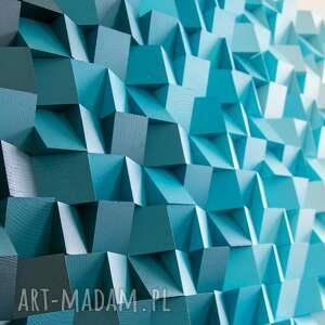wood light factory mozaika drewniana, obraz drewniany 3d atk, loft, modern