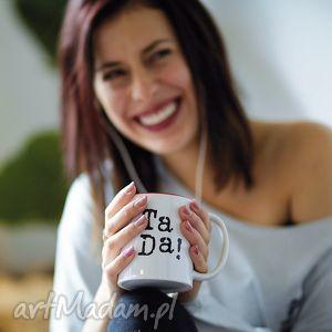 kubki ta da kubek z napisem pojemny 330 ml, kubek, kubki, mug, cups, tea, coffee