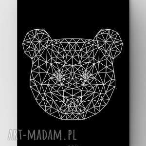 life fetish design panda black a3, dom, grafika, poster, panda, outline, zoo