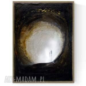 nowoczesna abstrakcja na płótnie 30x40 cm, 2995708, obraz ręcznie malowany