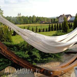 dom hamak podwójny z gratisem, xl, odpoczynek i relaks, wystrój