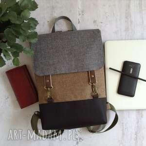 wegański plecak, plecak wodoodporny, na laptopa