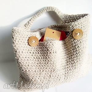 lniana torebka, torebki, len, pod choinkę prezent
