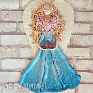 anioł z agatem z kolekcji weinahten - święta, ścienna