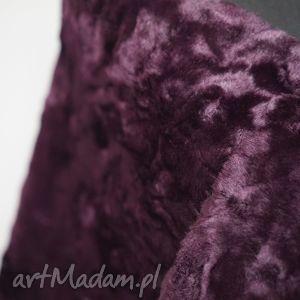 szal z futra purpurowy, szal, futro, purple, dodatek, fur, shawl